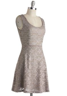 Silver Moon Melodies Dress from ModCloth. Could be a lot of fun dressed-down with a jacket and flats.