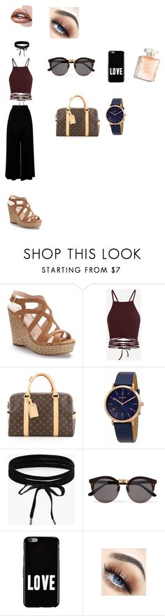 """""""women"""" by mawena-17 ❤ liked on Polyvore featuring Jennifer Lopez, Louis Vuitton, DKNY, Boohoo, Illesteva and Givenchy"""