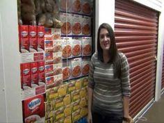 How Much Fits In A Storage Unit? - Thanksgiving Dinner #StorageMart and #OrganizeIt