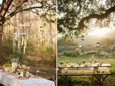 summer to do garden apairandaspare, paper chandelier