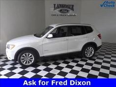 SuperSaver of the Day! This X3 XDrive is almost $7,000 below market average at $31,799. Check It Out here http://www.autosaver.com/product/details/7597214/