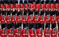 Trooping the Colour Duchess of Sussex joins Queen and Royal family, in pictures Queen Watch, Queen's Official Birthday, Horse Guards Parade, Queen Birthday, London Theatre, Duke Of York, Duke Of Cambridge, Duchess Of Cornwall, Prince Of Wales