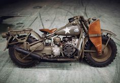 Via @motos.of.war  1942 Harley-Davidson XA USA. Just 30 were made with disc wheels. Available for test-drive in Motorworld by V.Sheyanov. #harley-davidson #harleydavidson #harley #hd #usa #military #army #motorcycle #2wheels #motorrad #moto #ww2 #worldwar2 #history #retro #classic #offroad #cardan #tractor #desert #motomir #bike #classicbike #retrobike #1940s #1942 #iggunslingers #jessetischauser