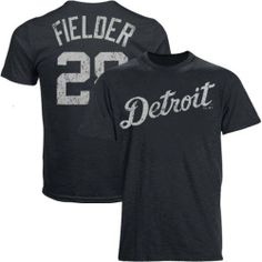 MLB Majestic Threads Prince Fielder Detroit Tigers Name & Number Premium Tri-Blend T-Shirt - Navy Blue by Majestic. $36.95. Majestic Threads Prince Fielder Detroit Tigers Name & Number Premium Tri-Blend T-Shirt - Navy BlueMade in the USATagless collarSlim fitDistressed screen print graphicsOfficially licensed Tigers tee50% Polyester/38% Cotton/12% Rayon50% Polyester/38% Cotton/12% RayonDistressed screen print graphicsTagless collarMade in the USAOfficially licensed Ti...