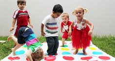 20 Best party games for toddlers twister