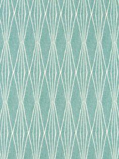 Aqua Blue Upholstery Fabric - Modern Blue Fabric by the Yard - White and Blue Fabric Yardage