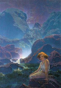 Maxfield Parrish. I love just relaxing in the beautiful outdoors on a warm, sunny day.