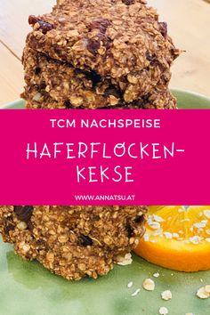 Das Rezept nach der TCM für Kekse mit Haferflocken zum Naschen ist einfach, gesund Tricks, Paleo, Breakfast, Food, Recipes Dinner, Treats, Proper Tasty, Simple, Yummy Food