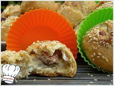 ΚΡΕΜΩΔΗ ΤΥΡΕΝΙΑ ΣΝΑΚ ΜΕ ΦΑΝΤΑΣΤΙΚΗ ΖΥΜΗ!!! - Νόστιμες συνταγές της Γωγώς! Greek Recipes, Other Recipes, Muffin, Brunch, Food And Drink, Breakfast, Heaven, Morning Coffee, Sky