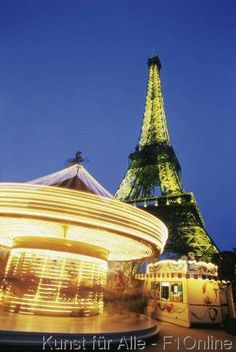 Karussell, Eiffelturm