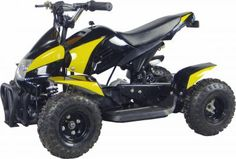 "ATV066 Electric ATV 350w, Disc Brakes, 6"" Wheels,5mph, 10mph (parental speed control) $499.00"
