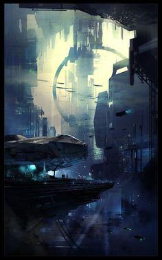 #Art #Sci-fi