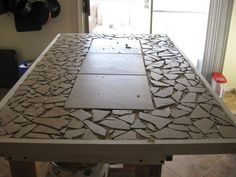 Mosaic Tiled table