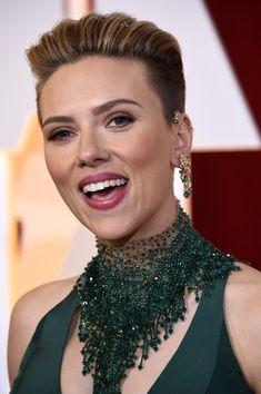 Scarlett Johansson Boy Cut