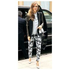 Celebrity Street Style; Jessica Alba Style Photos : People.com via Polyvore