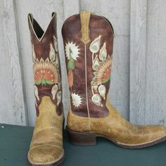 Ariat peacock boots