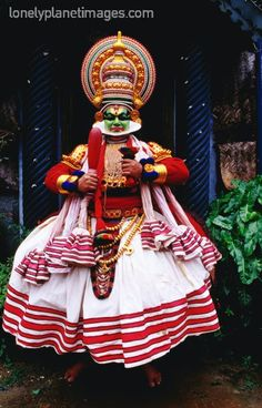 'kathakali'- a traditional dance form from kerala