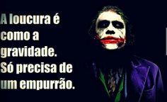 Loucura Hahaha Joker, Inspirational Phrases, Dc Comics, Halloween Face Makeup, Humor, Rock And Rool, Heath Ledger, Geek, Jokers