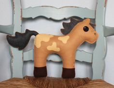 Hey, I found this really awesome Etsy listing at https://www.etsy.com/listing/173476405/horse-plush-stuffed-animal-handmade-made
