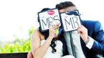 ganz frisch Mr. & Mrs. <3