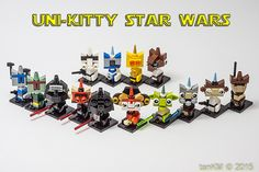 LEGO Star Wars MOC Spotlight The LEGO Movie: A New Hope For Uni-Kitty | From Bricks To Bothans