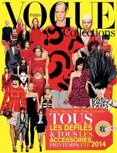 Le Vogue Collections printemps-été 2014 http://www.vogue.fr/mode/news-mode/articles/le-vogue-collections-printemps-ete-2014/21224