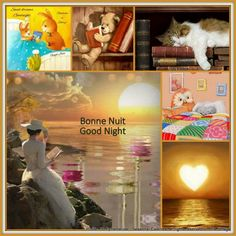 Bonne Nuit - Good Night Good Night Messages, Good Night Quotes, Good Night Blessings, Happy Everything, Good Morning Good Night, New Years Eve Party, Months In A Year, Color Pallets, Positive Thoughts