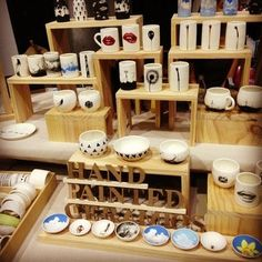 Image result for wooden crafts craft fair display