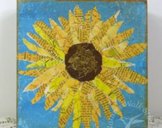 Popular items for paper sunflowers on Etsy