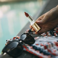 #LipstickConfessions: Today we're all about the red, white & blue. Extra emphasis on the red, of course. Happy #4thofJuly!