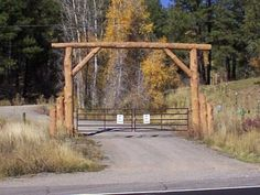 #Automated_Gate - Picture a rustic log cabin nestled on a #wooded_hillside at the end of this winding country lane. Only an automated gate separates you from this woodland paradise. You drive forward, the gate slowly swings open and #paradise is yours.