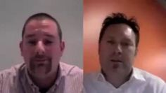 Aaron Strout on using social media in the hiring process. Video by Dave Cutler.