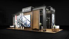 ArchoSteel on Behance Exhibition Stand Design, Exhibition Booth, Exhibition Ideas, Booth Design, Industrial Design, Design Inspiration, Interior Design, 3ds Max, Outdoor Decor