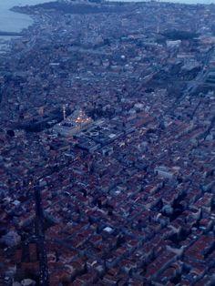 Istanbul plane view
