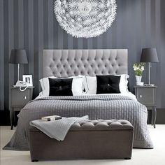 Att välja färg till sovrummet – 19 monokroma sovrum