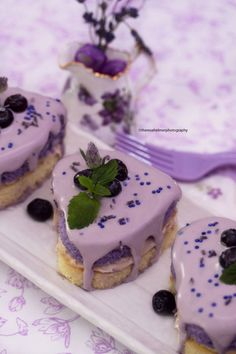 Honey Lemon Lavender Tea Cake (multi photos) by theresahelmer on DeviantArt