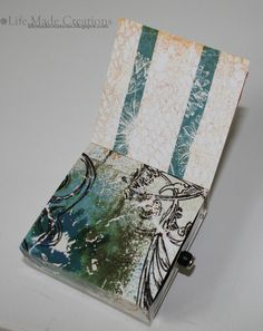 Life Made Creations: Blog Hop Project:: Box Drawer Mini Album