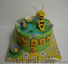 Maya de bij cake/taart