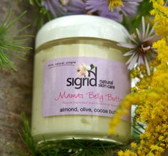 Beautiful handmade belly butter for expecting mamas from Sigrid Naturals. Available at Husk! https://www.facebook.com/lovehusk