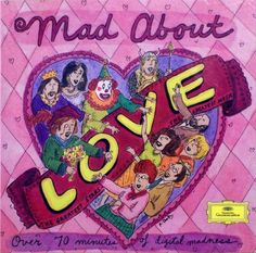 1994 Mad About Love [Deutsche Grammophon 449112-2] cover illustrations: Roz Chast #albumcover