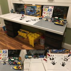 8 hours in the shop today with my son. He thought his gift was a father son project building a lego table. Little did he know the gift was coming AFTER we finished our project.  650 piece project 4 years advanced for his age so we can tackle it as a team!!! Cant wait till tomorrow.   #lego #bonding #legos #fatherandson #family #familytime #mylife #mylove #son @lego