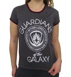 The GOTG Vol. 2 Guardians Crest Women's T-Shirt is a super soft shirt dedicated to the lovable misfits known as the Guardians of the Galaxy! Check it out.