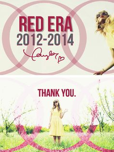 RED was such an experience, such a memory. It will live on forever. Long Live the RED Era! And thank you, Taylor!