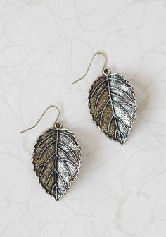 Maple Leaves Earrings | Modern Vintage Earrings | Modern Vintage Jewelry