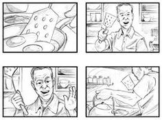 Storyboard For A Video Production  Story Board