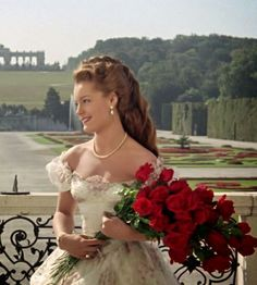 """the-garden-of-delights: """" Romy Schneider as Empress Elisabeth of Austria in Sissi """" Romy Schneider, Princesa Sissi, Sissi Film, Empress Sissi, Beautiful Series, Actrices Hollywood, Beautiful Actresses, Old Hollywood, Movie Stars"""