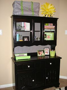 This is almost exactly the style of my cabinet that I want to refinish
