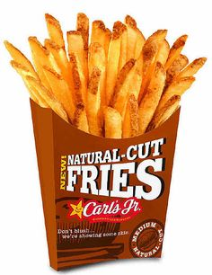 View our entire Carl's Jr. Because if you're gonna eat, you should Eat Like You Mean It. Junior Burger, French Fries At Home, Good Food, Yummy Food, Fun Food, Crispy French Fries, Carl's Jr, Burgers And More, Snack Recipes