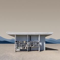 Trailer Park Mailboxes, Brawley, California – Ed Freeman Photography Cinematic Photography, Minimal Photography, Ed Freeman, Wes Anderson Style, Photo Ed, Back Road, Time Photo, Postmodernism, Little Houses