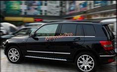 ABS Chrome Side Door Body Molding Bottom Cover trim For Mercedes-Benz GLK-Class X204 2008-2015 #Affiliate